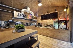 A Jack's Burger belülről