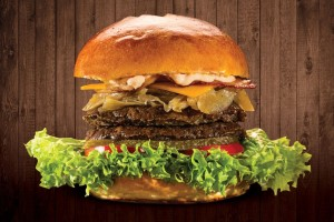 Double Jack's Burger
